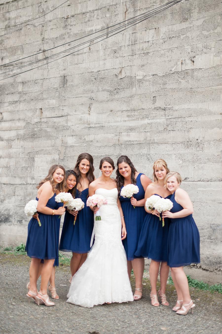 Knee length navy bridesmaids dresses elizabeth anne designs the knee length navy bridesmaids dresses elizabeth anne designs the wedding blog ombrellifo Gallery