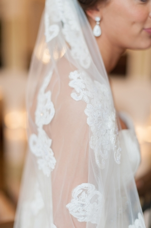 Lace Embroidered Veil