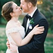 Lace Off Shoulder Bridal Gown