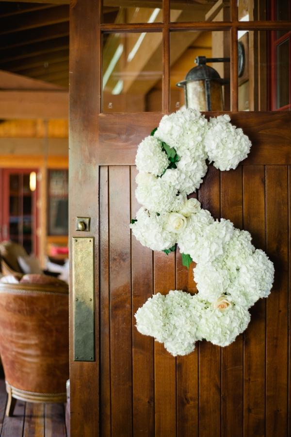 Monogram Flower Letter