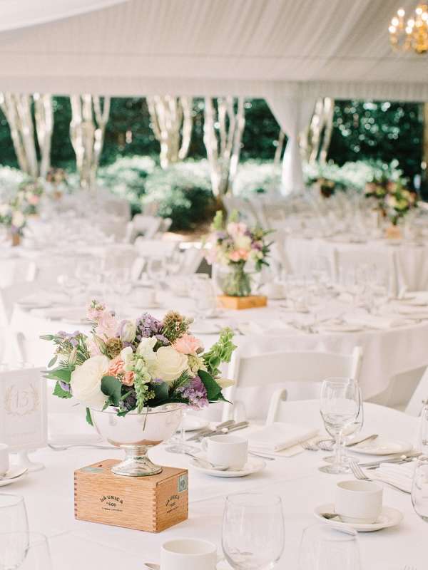 Outdoor Tent Reception in Atlanta