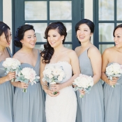 Pale Blue Bridesmaids