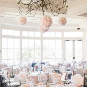 Pale Pink and Silver Reception