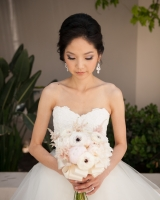 Peony and Poppy Bridal Bouquet