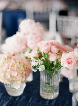 Pink Florals in Vases