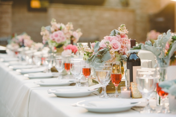 Pink Vineyard Wedding
