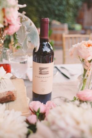 Pink Winery Wedding