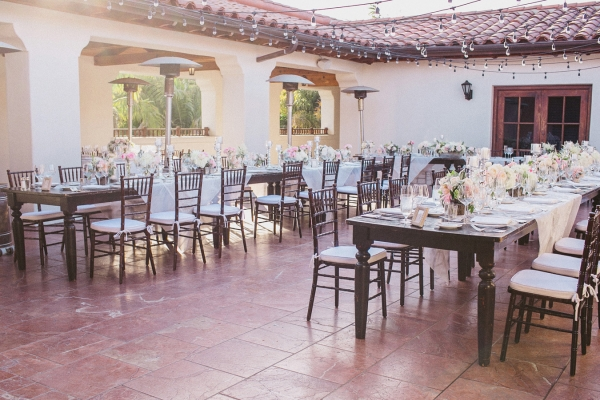 Pink and Ivory Elegant Reception