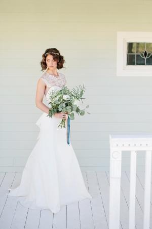 Romantic Bohemian Bridal Looks