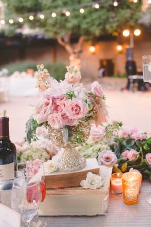 Romantic Garden Centerpiece