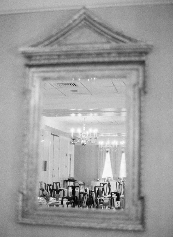 Romantic Indoor Wedding Reception