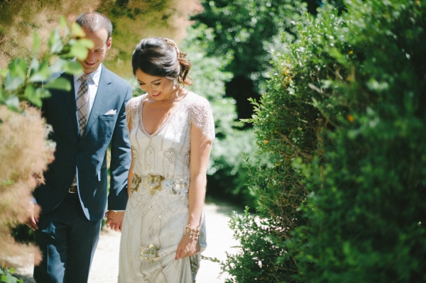 Romantic Jenny Packham Gown
