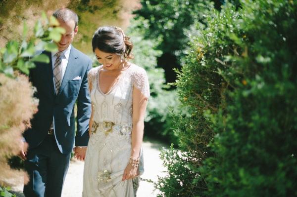 Romantic Jenny Packham Gown
