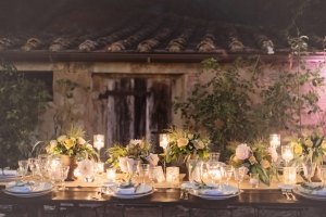 Romantic Outdoor Wedding in Tuscany