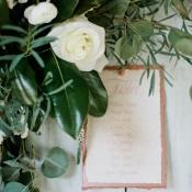 Rose and Greenery Garland