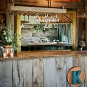 Rustic Barn Bar Wedding Venue Inspiration