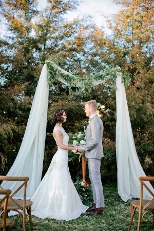 Rustic Natural Wedding Arbor
