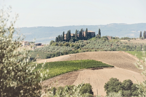 Scenery in Tuscany