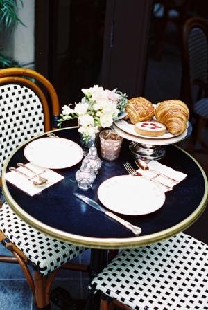 Sidewalk Cafe Table