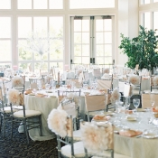 Silver and Blush Reception