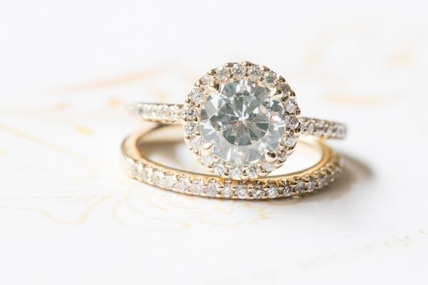 Sparkly Diamond Rings