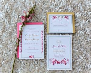 Sunkissed Blossom Invitations