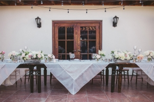 Tabletop with White Linens