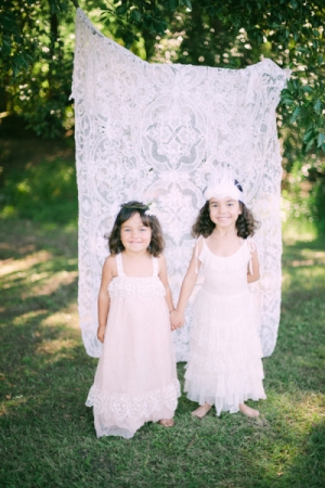 Tea Princess Flower Girl Dresses