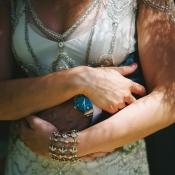 Vintage 1920s Style Bridal Jewelry