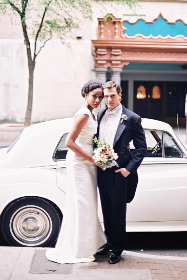 Vintage Car at Wedding1