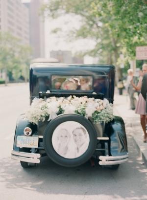 Vintage Getaway Car