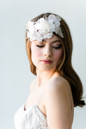 Vintage Style Bridal Hairpiece
