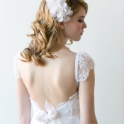 Vintage Style Lace Bridal Gown