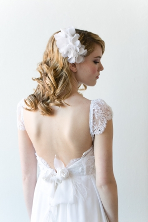 Vintage Style Lace Bridal Gown