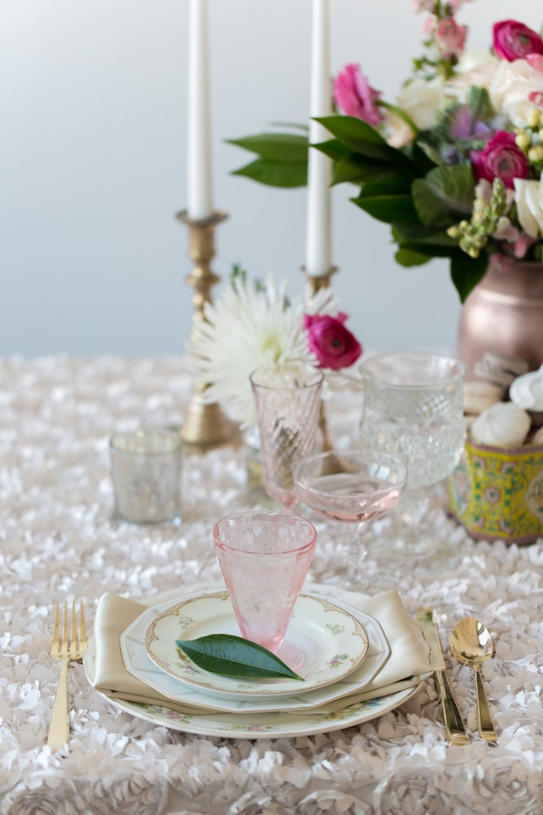 Vintage Style Reception Table