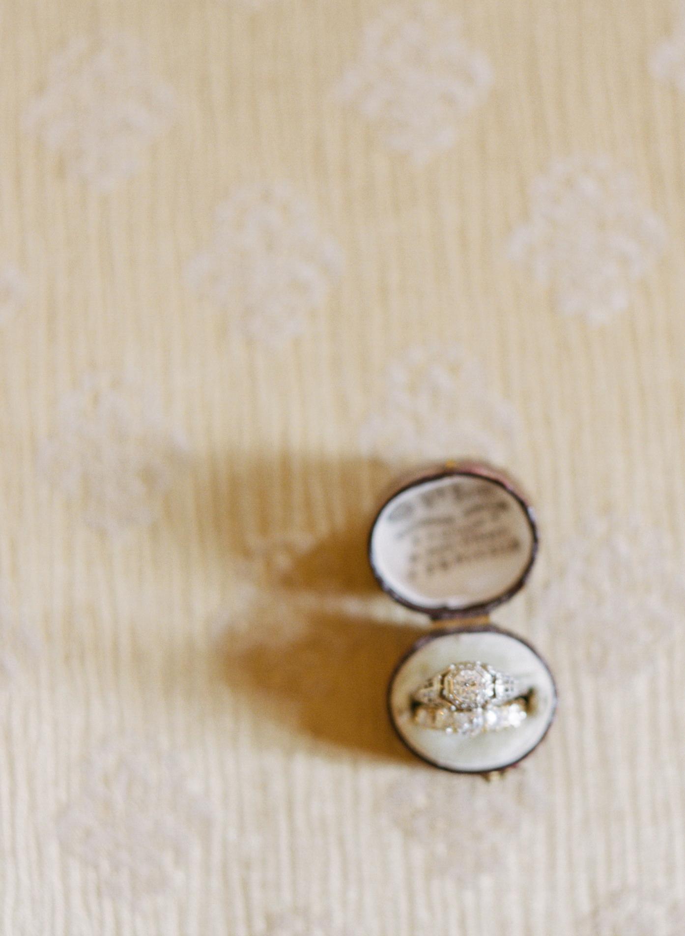 Vintage Wedding Ring Box Elizabeth Anne Designs The Wedding Blog