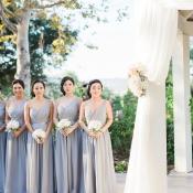 Wedding Ceremony Under Gazebo