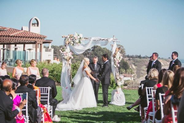 Wedding Ceremony at Bacara Resort