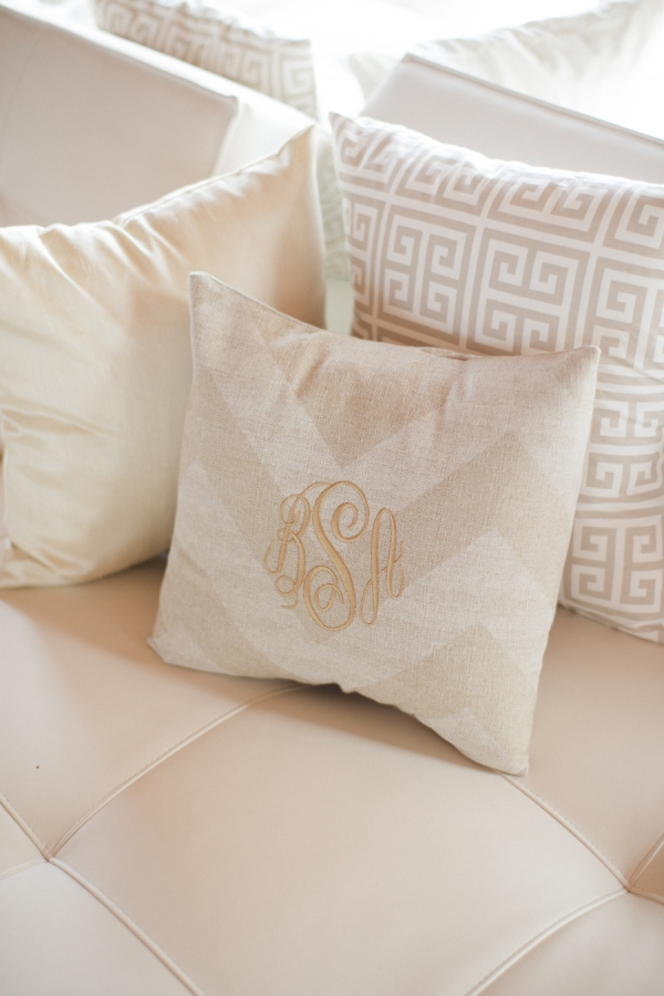 Wedding Lounge Area Pillows