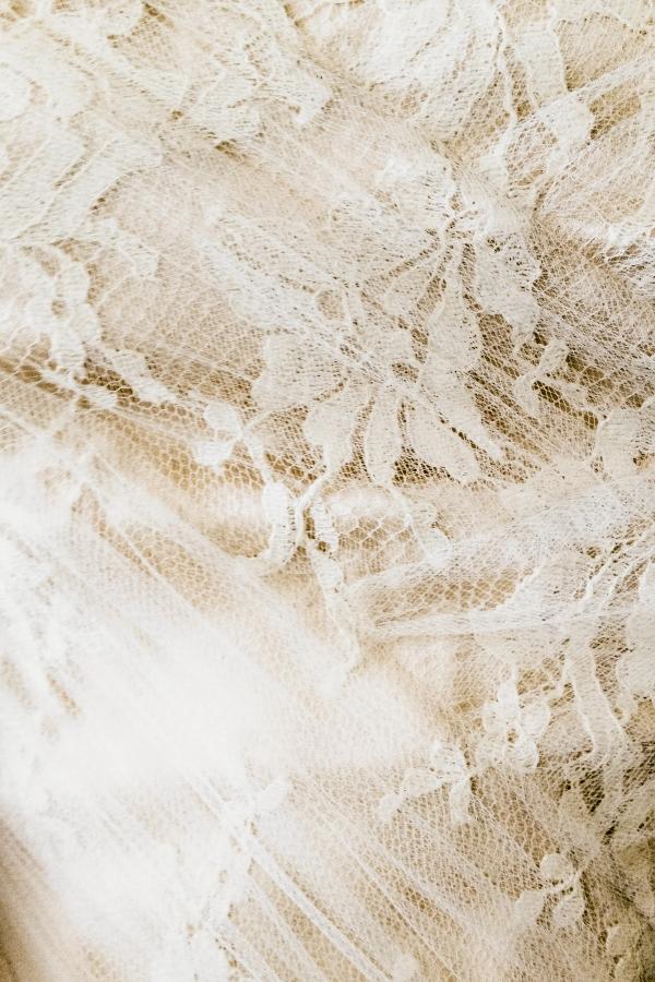 Antique Bridal Gown Lace