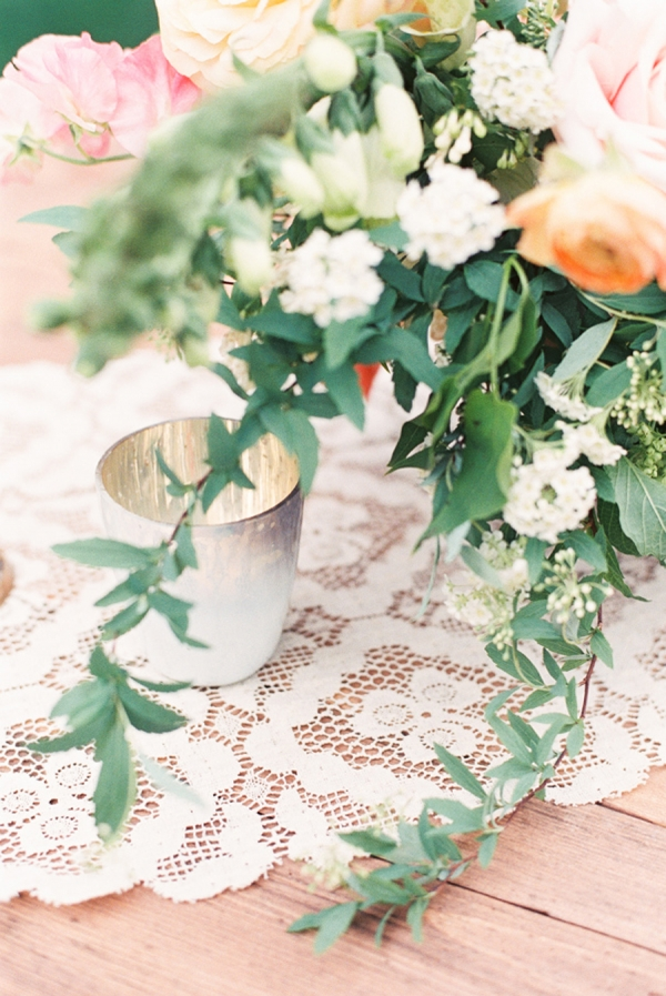 Antique Lace Table Linens