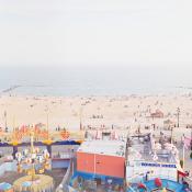 Ariel View of Coney Island