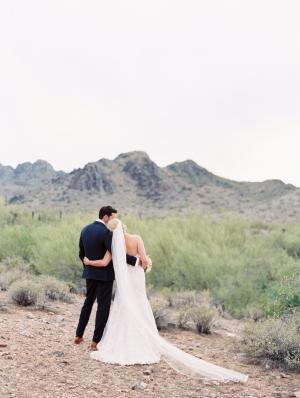 Arizona Backyard Wedding Brushfire Photography