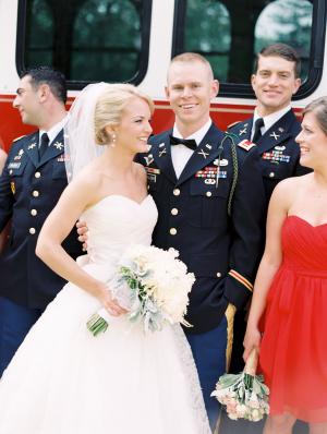 Army Dress Uniform for Groom