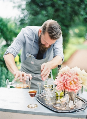 Bartender Wedding Ideas