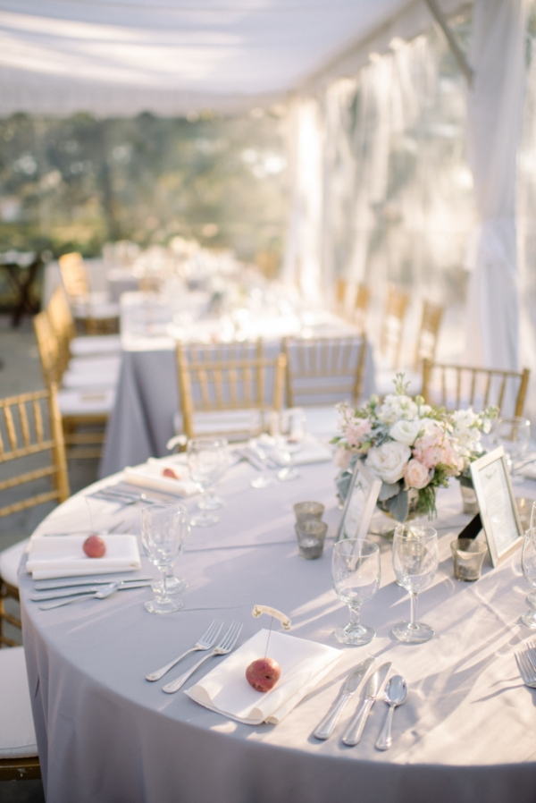 Blush and Lavender Reception