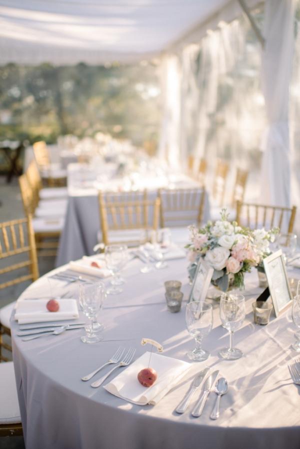 Blush and Lavender Reception