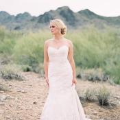 Bride Desert Wedding