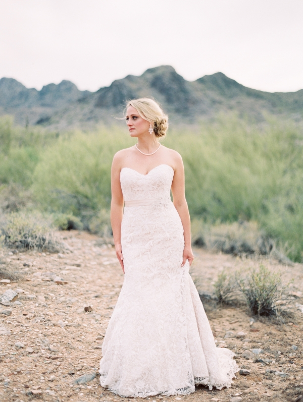 Bride Desert Wedding