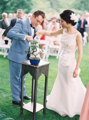 Bride and Groom Bonsai Tree Ceremony